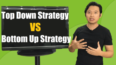 forex top down vs bottom up strategy