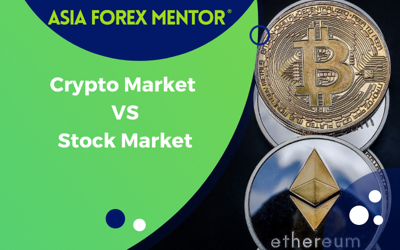 CRYPTO MARKET VS STOCK MARKET