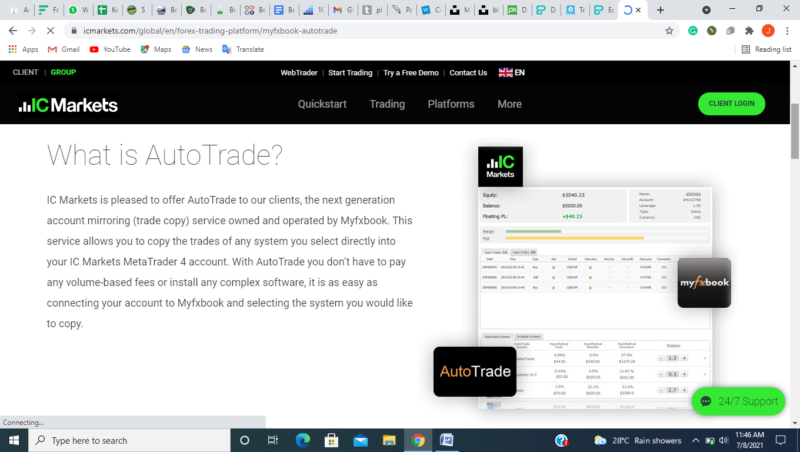 IC Markets' Tools and Trading Platforms