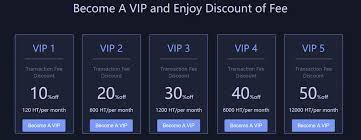 Huobi VIP membership fees