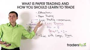 how to do paper trading